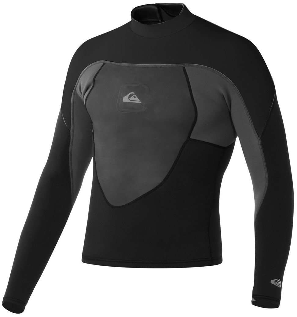 Quiksilver Men's Neoprene Jacket 1.5mm Syncro Smoothie Black