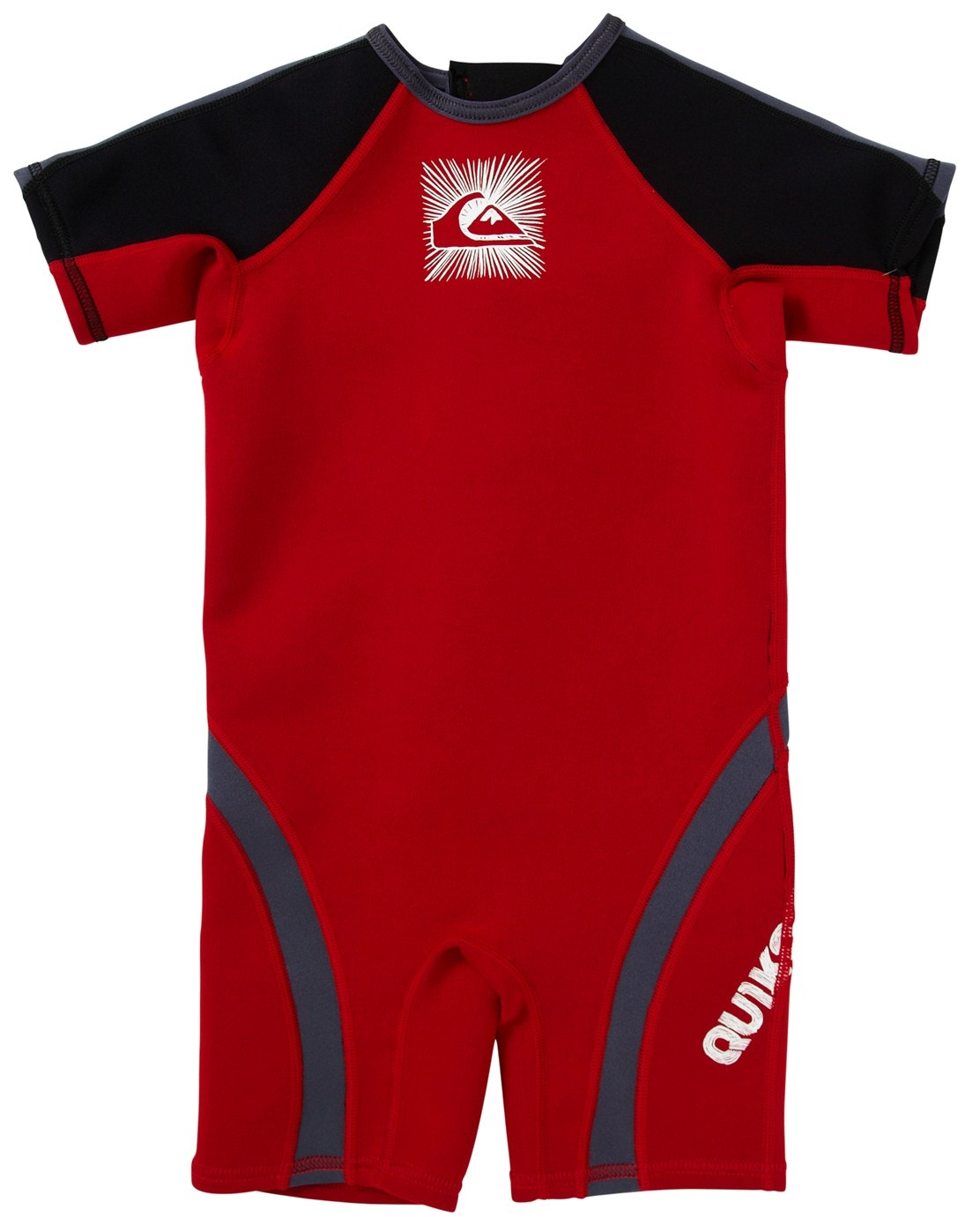 Quiksilver Syncro 1.5mm Boys Toddler Springsuit - Red/Black