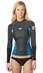 Roxy SYNCRO Jacket 1.5mm LONG SLEEVE Neoprene - Black/Grey/Blue - ARJW800001-XKBB