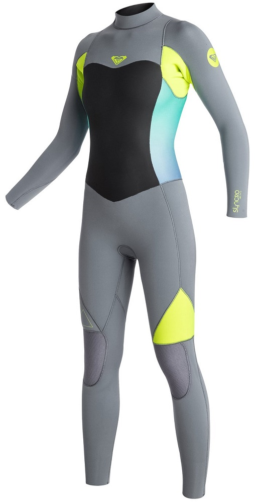 Roxy Syncro 4/3mm Women's Back Zip GBS Wetsuit - Limited Edition!