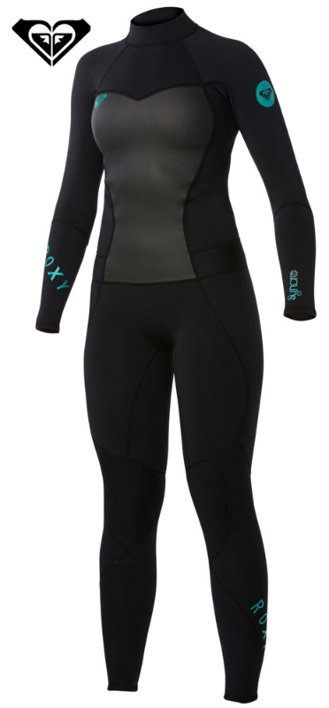 Roxy Syncro Wetsuit Women's 3/2mm Flatlock BEST SELLER!