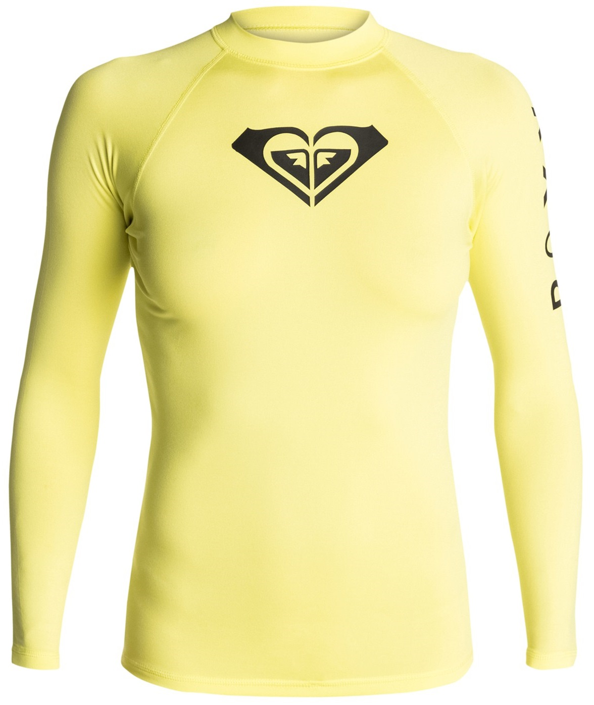 Roxy Whole Hearted Rashguard Long Sleeve Women's - Lemon Yellow