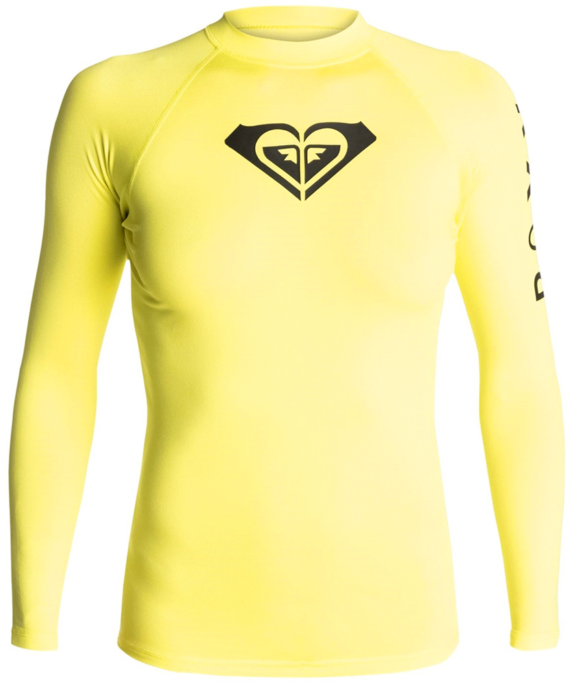 Roxy Whole Hearted Women's Rashguard Long Sleeve 50+ UPF Protection BEST SELLER