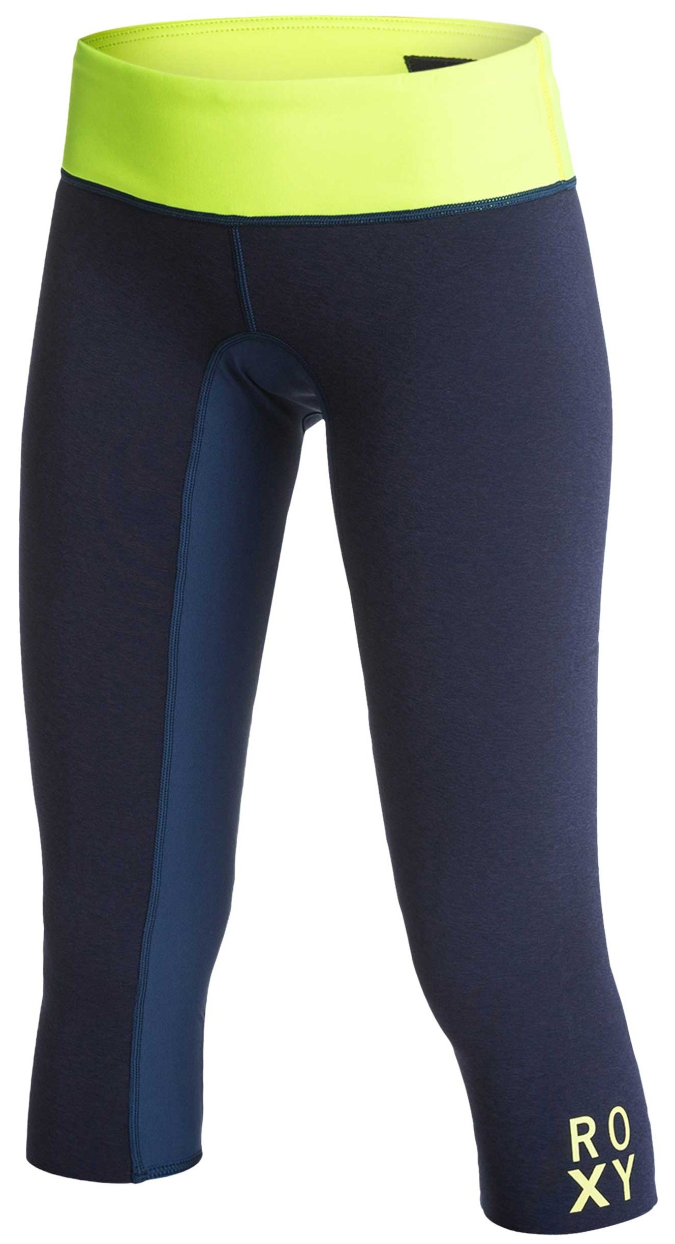 Roxy XY 1mm Inside Break Neo Capri Women's Pant Blue/Yellow