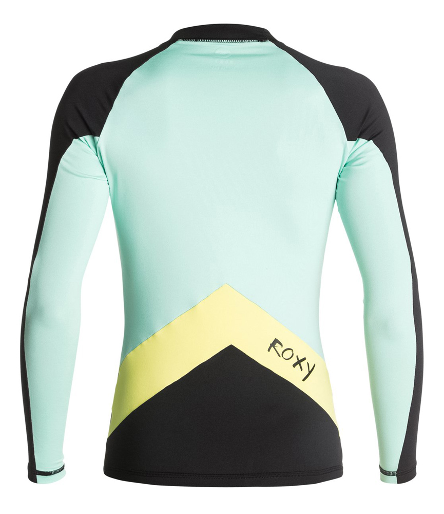 Roxy XY Long Sleeve Rashguard 50+ UV Protection BEST SELLER Super Stretch