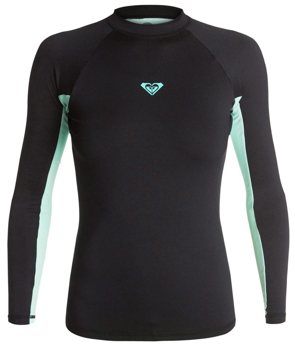 Roxy XY Long Sleeve Women's Rashguard - Black/Light Green
