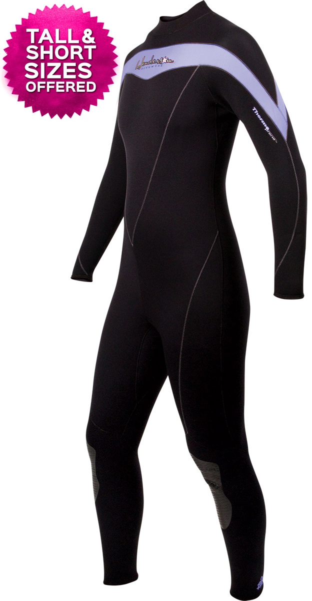 Women's Thermoprene Womens Wetsuit 5mm Tall / Short Plus Sizes Available - Purple