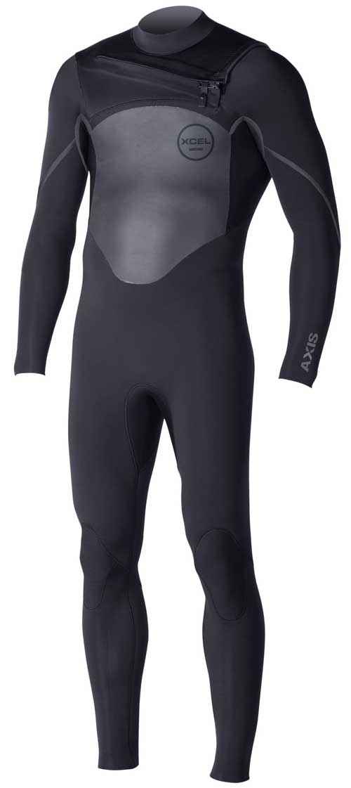 XCEL Axis X2 4/3mm Men's Wetsuit Chest Zip ALL NEW FALL 2016