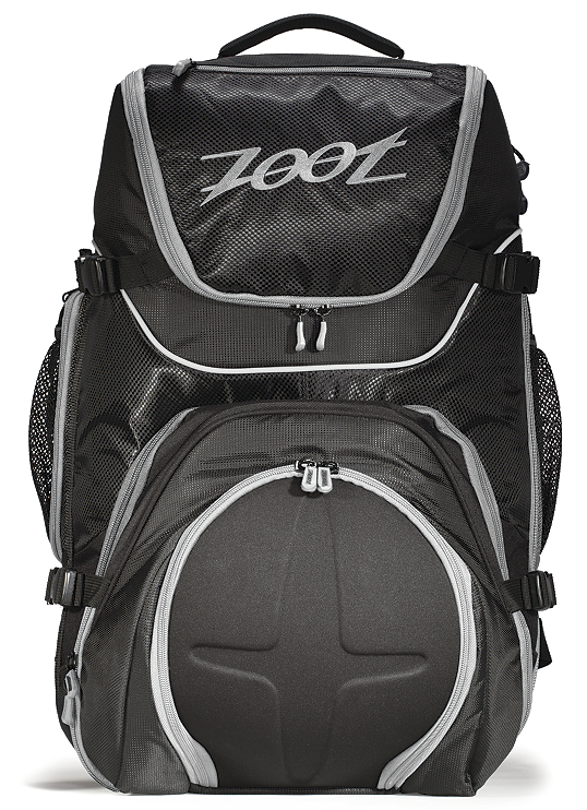 Zoot Sports Men's Ultra Tri Bag 2.0 Black/Silver