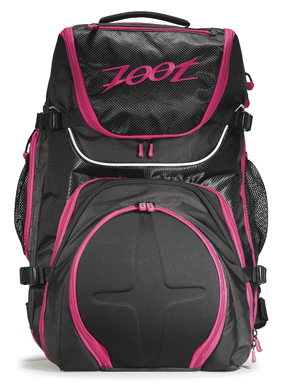 Zoot Sports Women's Ultra Tri Bag 2.0 Black/Pink