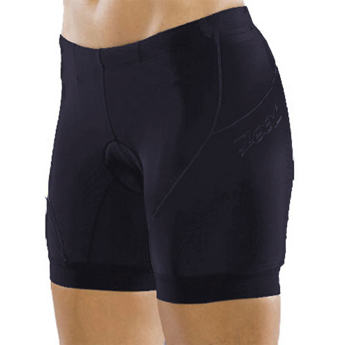 Zoot Tri Fit Triathlon Shorts 6 inch - Black