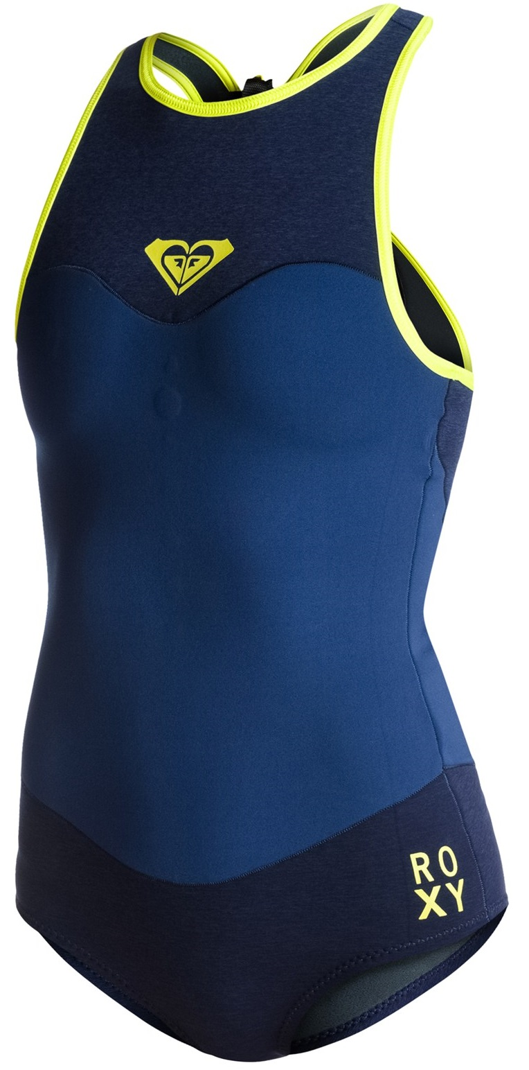 Roxy XY 1mm Wetsuit Womens Bikini Racer Short John BEST SELLER