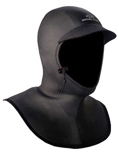 Hyperflex Bibbed 3/2mm Neoprene Hood NEW!