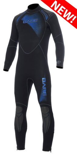 BARE Mens 3/2mm Sport Wetsuit - 002153-BLU