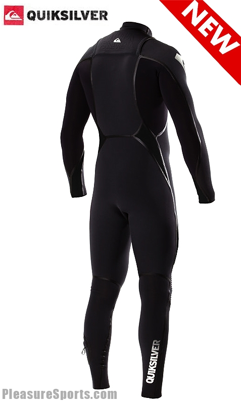 Quiksilver Ignite 3/2 LFS Chest Zip Wetsuit Black/Grey - IH304ML-GRY