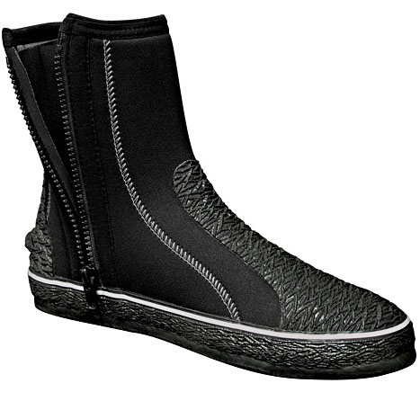 H2Odyssey Endura Boots Scuba Diving 3mm Zippers - BK53