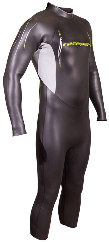 NeoSport NRG Men's Triathlon Wetsuit 5/3mm Video Description! -