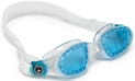 Aqua Sphere Mako Swim Goggles Clear with Blue Lens -