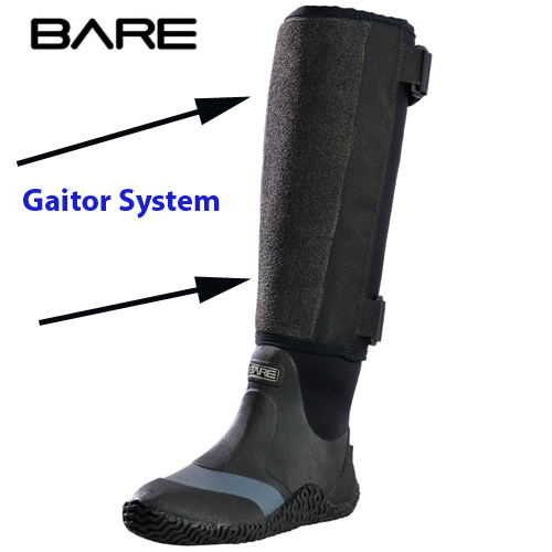 Bare Drysuit Gaitor System -