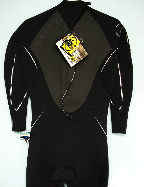 Body Glove Men's Wetsuit 3/2mm GBS (Sealed Seams) Back Zip Stretchy Dive Surf - 9140-OAA