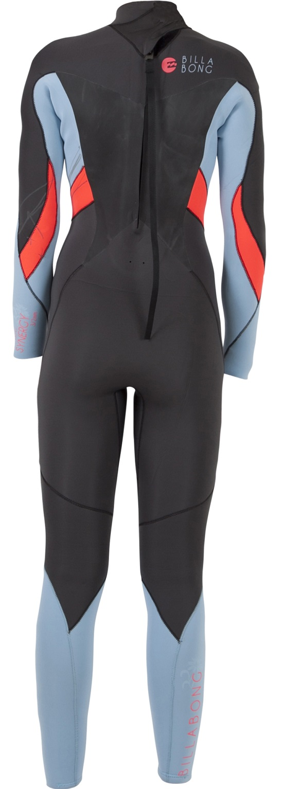 Billabong 302 Synergy 3/2mm Flatlock Women's Wetsuit - JWFUVSF3-ICE