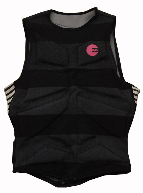 Billabong All Day Pullover Vest - PFD - Black - MWVE1ALL-BLK