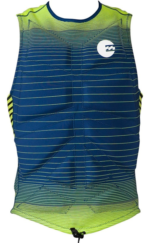 Billabong All Day Pullover Vest - PFD - Blue - MWVE1ALL-BLU