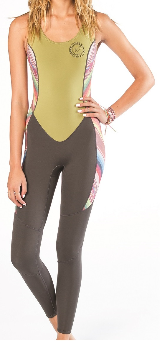 Billabong Salty Jane Wetsuit 2mm Women's Sleeveless - Multi