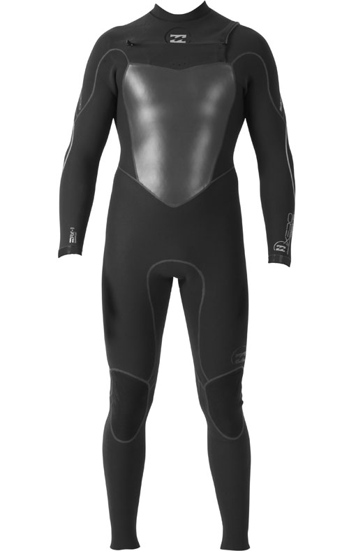 Billabong Xero Furnace 4mm Full Wetsuit - New! - MWFU3XC4-BLK
