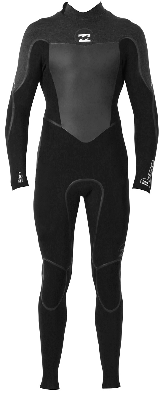 Billabong Xero Gold 403 Men's Back Zip 4/3mm Full Wetsuit