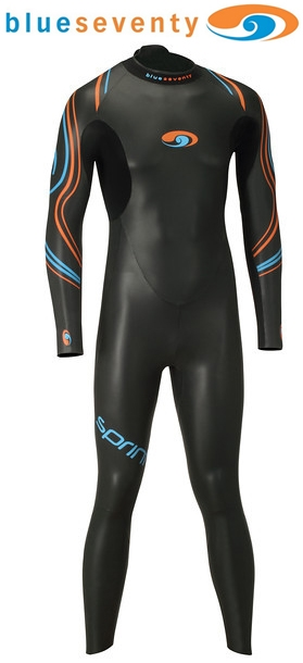 Blue Seventy Men's Sprint Full Triathlon Wetsuit - 12WSPF01