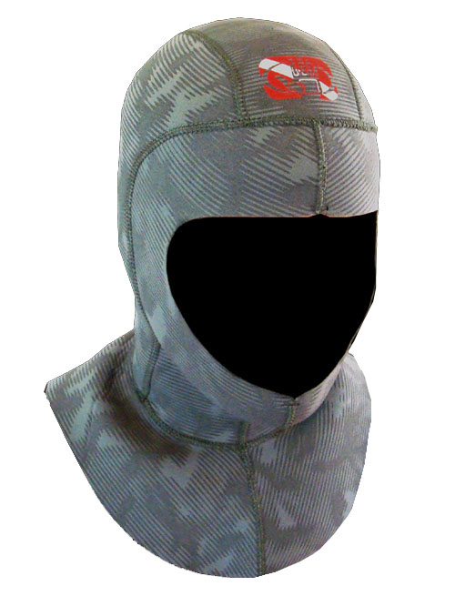 Body Glove Camo 6.5mm Diving Hood - 11300-A13