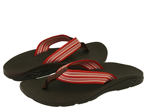 Chaco Flip EcoTread: Chaco Women's Sandal  Flip Flop Multi Red - J100660