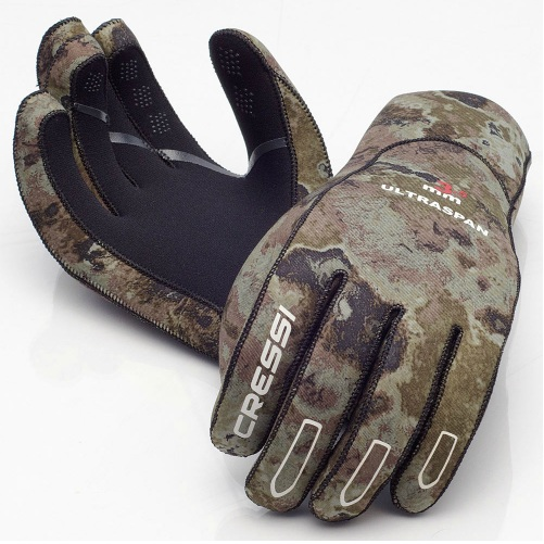 Cressi 2.5mm Camo UltraSpan Glove -