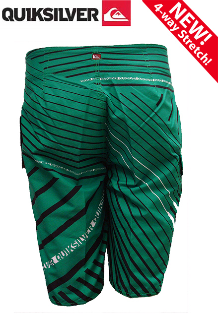 "Cypher Plate Shift 22"" Boardshorts Green - Quiksilver Boardshorts - 101015-GRN"