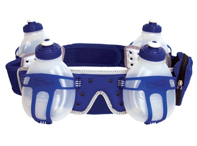 Fuel Belt Revenge 4 Bottle Belt - Atlantic Breeze (Royal Blue)