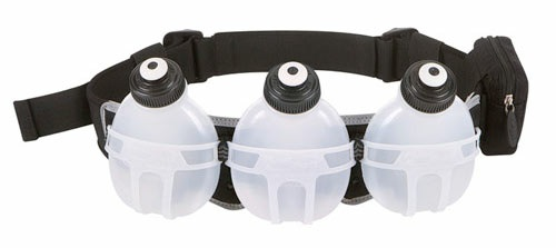 Fuel Belt Revenge R30 3 Bottle Belt: Black One Size Fits All Black