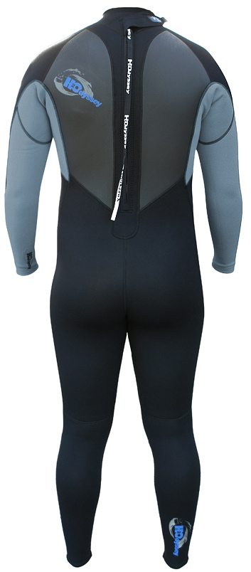 H2Odyssey Vapor  Men's Wetsuit 3/2mm Flatlock - Black/Blue - WM1-B