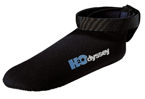 H2Odyssey Deluxe Mini Fin Sock with Tether
