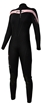 Henderson THERMOPRENE Front Zip 3mm Women's Wetsuit Jumpsuit - Blk/Pink - A830WF-66