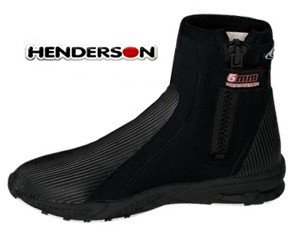 Henderson 5mm Molded Sole Zippered Dive Boot - NB55Z
