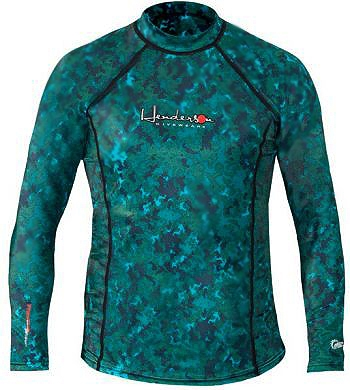 Henderson Camo Skin Rash Guard Camouflage Long Sleeve Free Dive - L115MN-007