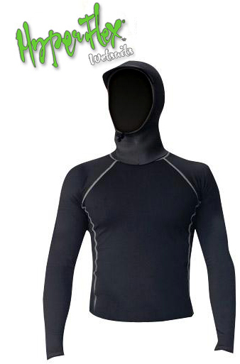 Hyperflex Polyolefin Long Sleeve 3mm Hooded Rashguard SALE!