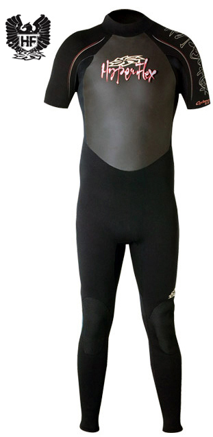 Hyperflex Cyclone 2mm Men's Short Sleeve Wetsuit -