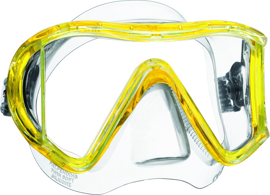 Mares i3 Dive Mask - Yellow -