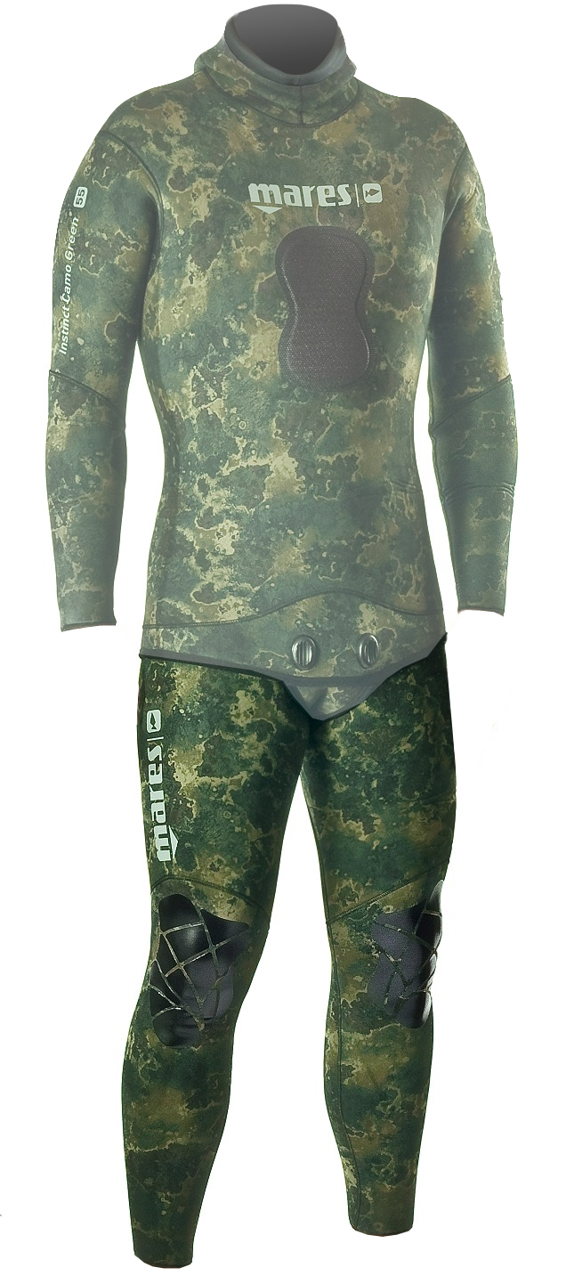 Mares Pure Instinct 3.5mm Green Camo Men's Wetsuit John