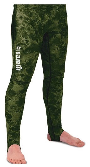 Mares Pure Instinct Rashguard Pants Green Camo 50+ UV Protection
