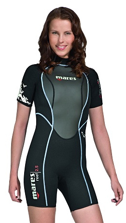 Mares 3mm Reef She Dives Women's Shorty Wetsuit - 482083