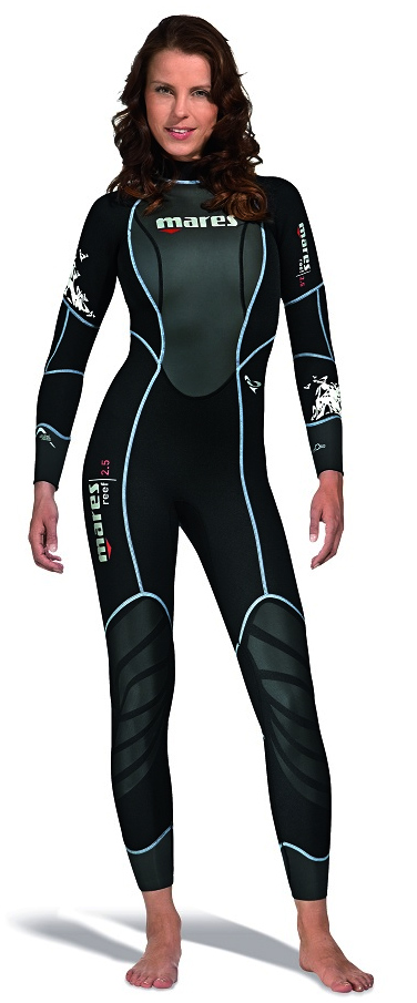 Mares 3mm Reef USA Women's Full Wetsuit -