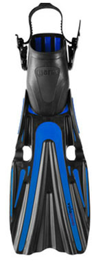 Mares Volo Power Open Heel Fin - Blue -